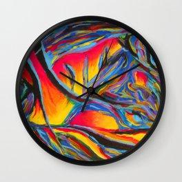 Quickening Wall Clock