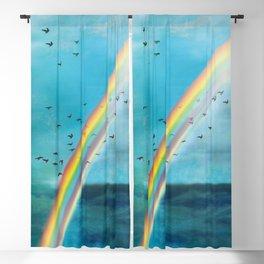 Rainbow Blackout Curtain