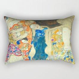 """Gustav Klimt """"The Bride"""" Rectangular Pillow"""