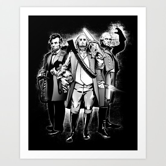 President Bad Ass Art Print