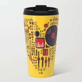 Music in every heartbeat Travel Mug