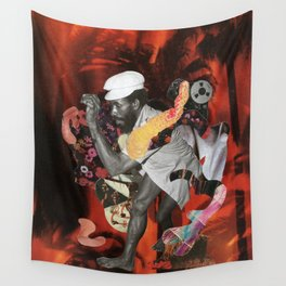 Lee Perry Soul Fire Wall Tapestry
