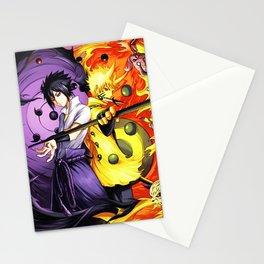 sasuke and naruto Stationery Cards