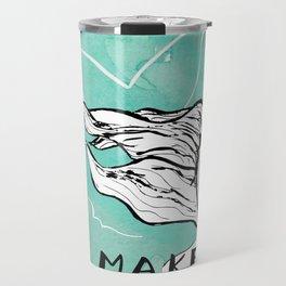 Make Waves Travel Mug