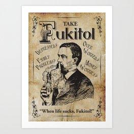 Fukitol Art Print