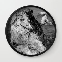 Pismo Beach Surise Wall Clock