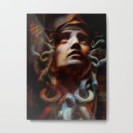 The last moments of Medusa Metal Print