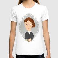 virginia T-shirts featuring Virginia Woolf by Creo tu mundo