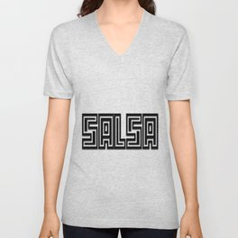 Salsa Engrave Bevel Unisex V-Neck