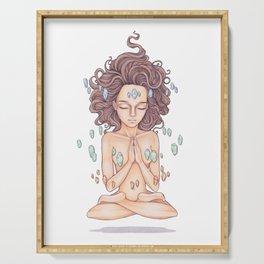 Meditation Serving Tray