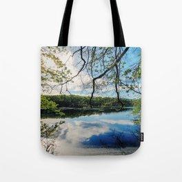 Pond Views Tote Bag