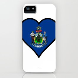 Love Maine iPhone Case