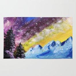 Interstellar Landscape Rug