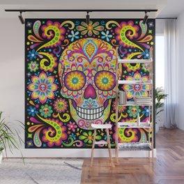 Sugar Skull Art (Spark) Wall Mural