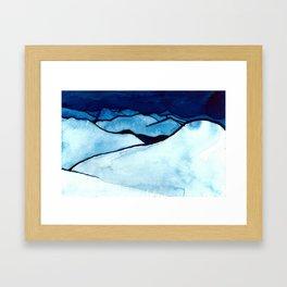 peak views Framed Art Print