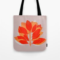 spice Tote Bags featuring Blossom Spice by Garima Dhawan
