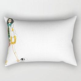 Army Jacket Rectangular Pillow