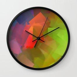 After rain comes sunshine Wall Clock