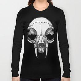 Rare Persian Smilodon Skull. Long Sleeve T-shirt