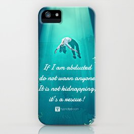 Abduction iPhone Case