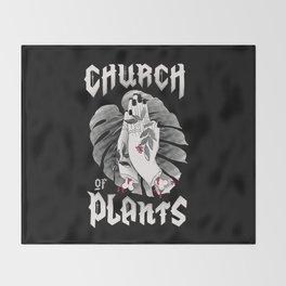 Church of Plants Throw Blanket