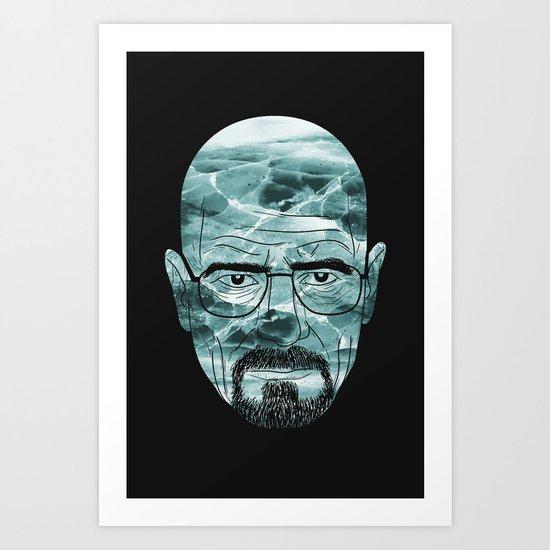 Heisenberg, ice man Art Print