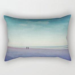 Along the Seashore Rectangular Pillow
