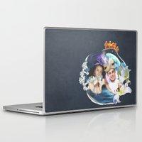 aladdin Laptop & iPad Skins featuring Aladdin & Jasmine by FarbCafé