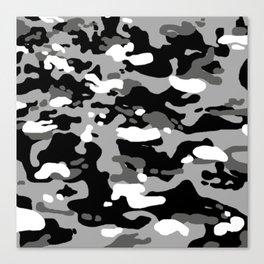 Military Camouflage: Urban I Canvas Print