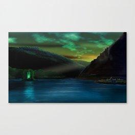 Romantic Rhine Canvas Print
