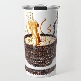 """I """"scream"""" for coffee! Travel Mug"""