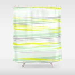 lemon grass / light Shower Curtain