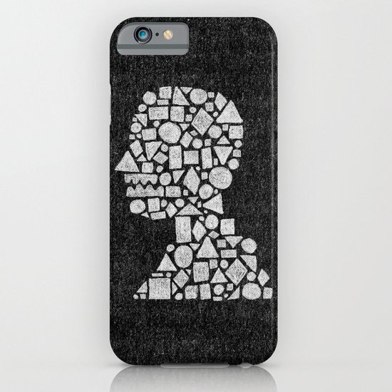 Untitled Silhouette in Reverse. iPhone & iPod Case