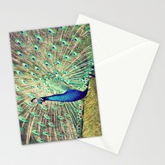 Pretty as a Peacock Stationery Cards