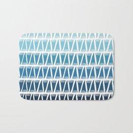 Tee Pee Blue Gradient Bath Mat