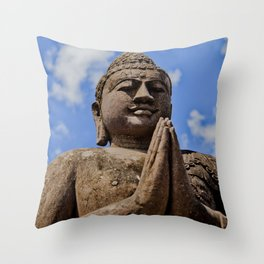 Buddha II Throw Pillow