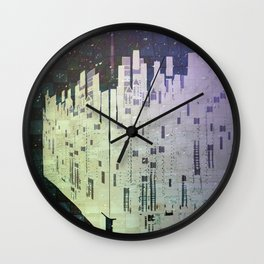 On The Spatial Grid Wall Clock