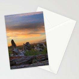 Driftwood Sunset by Seasons Kaz Sparks Stationery Cards
