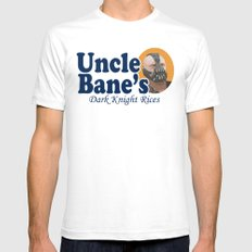Uncle Bane's Mens Fitted Tee SMALL White