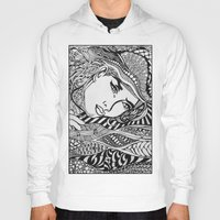 lichtenstein Hoodies featuring Zentangle Lichtenstein by butterflyandbear