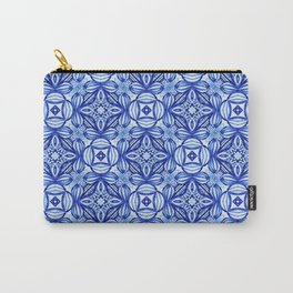 For the Love of Blue - Pattern 372 Carry-All Pouch