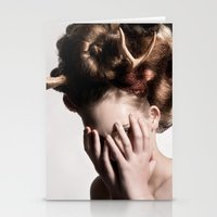 antler Stationery Cards featuring ANTLER by MCGRORY