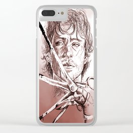 Will Scissorhands Clear iPhone Case
