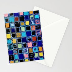 living in a box (global) 2. version Stationery Cards