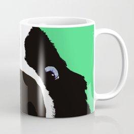 Begging Border Collie Coffee Mug