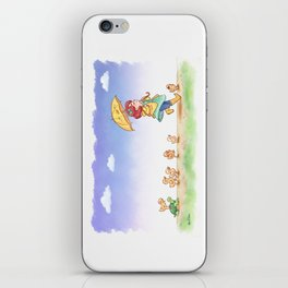 Duckling March iPhone Skin