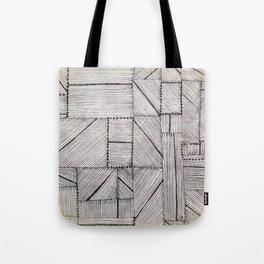 Just Lines 2 Tote Bag