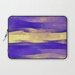 Purple Passion Sky Laptop Sleeve