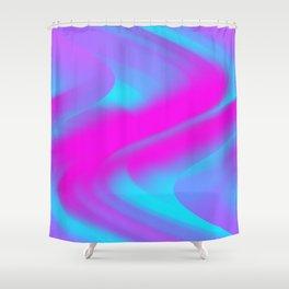 DREAM PATH (Blues, Purples & Fuchsias) Shower Curtain