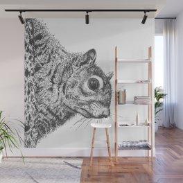 Squirrel! Wall Mural